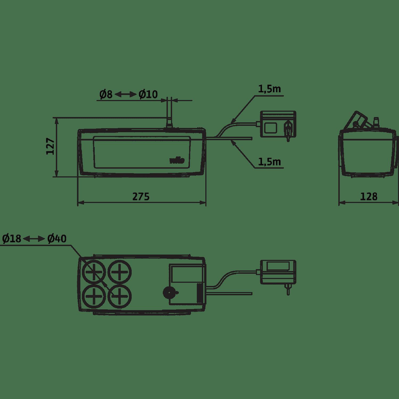 Автоматическая напорная установка для отвода конденсата Wilo Plavis 015-C