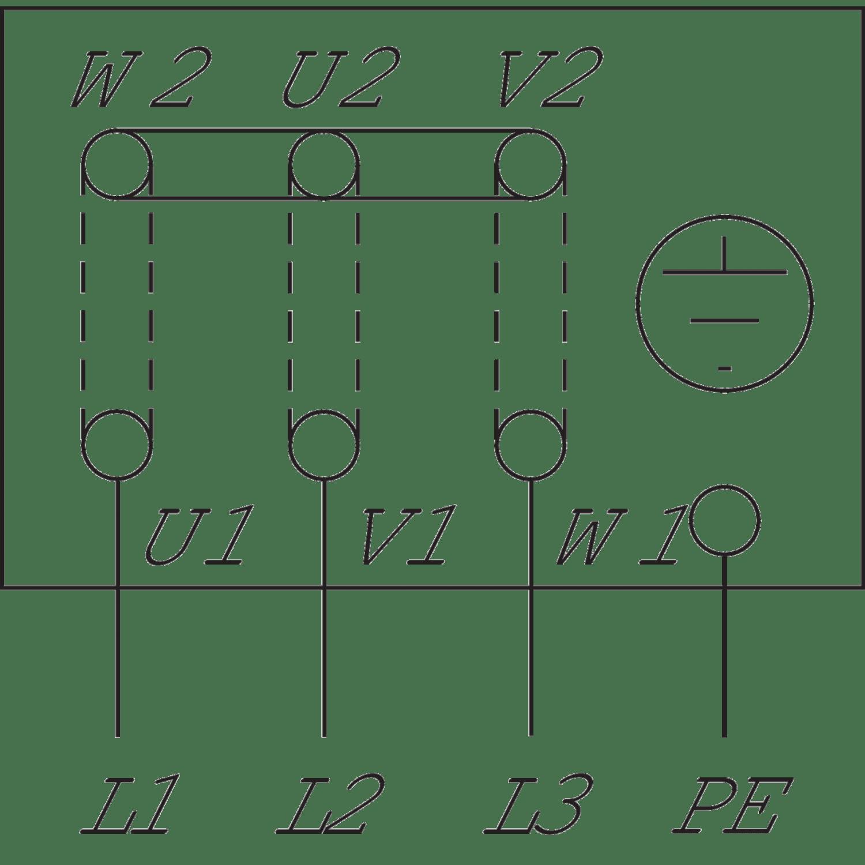 Циркуляционный насос с сухим ротором в исполнении Wilo Inline VeroLine IP-Z 25/2 DM
