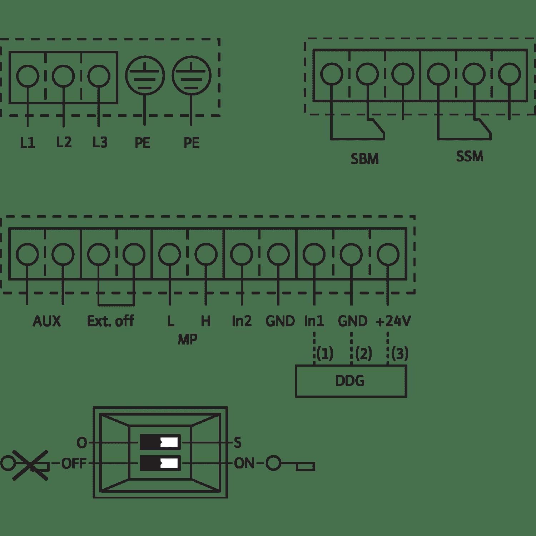 Блочный насос Wilo CronoBloc-BL-E 50/220-22/2-R1