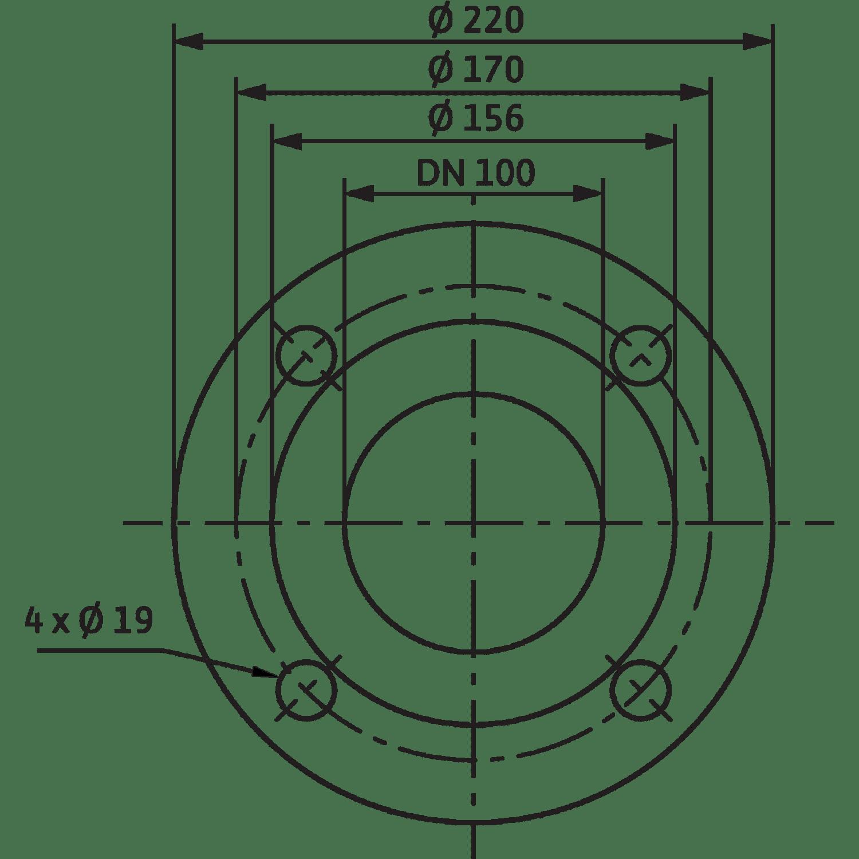 Циркуляционный насос Wilo Stratos 100/1-6 PN6