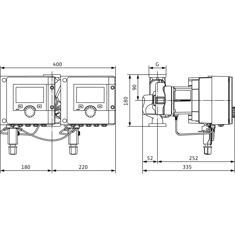 Циркуляционный насос Wilo Stratos MAXO-D 30/0,5-6 10 bar