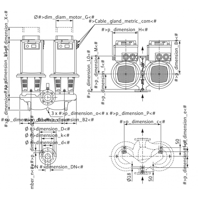 Циркуляционный насос Wilo Stratos GIGA-D 150/2-17/15-R1
