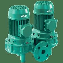 Циркуляционный насос с сухим ротором в исполнении Inline Wilo VeroTwin-DPL 100/175-3/4