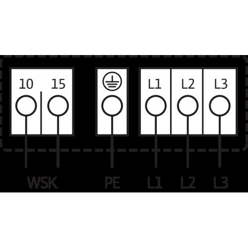 Циркуляционный насос Standard Wilo TOP-SD 40/15 DM PN6/10