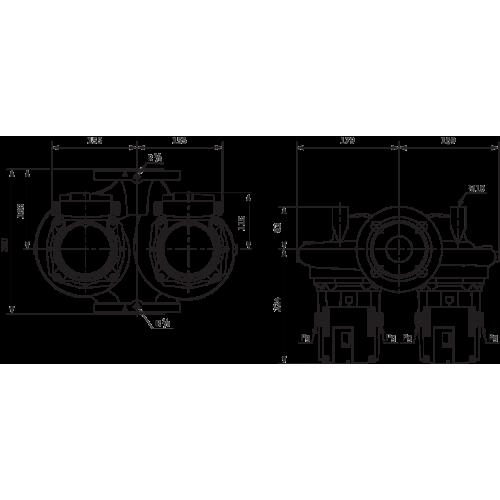 Циркуляционный насос Standard Wilo TOP-SD 50/7 EM PN6/10