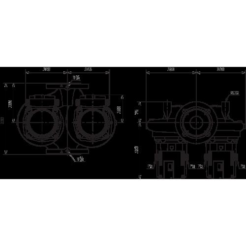 Циркуляционный насос Standard Wilo TOP-SD 40/7 DM PN6/10