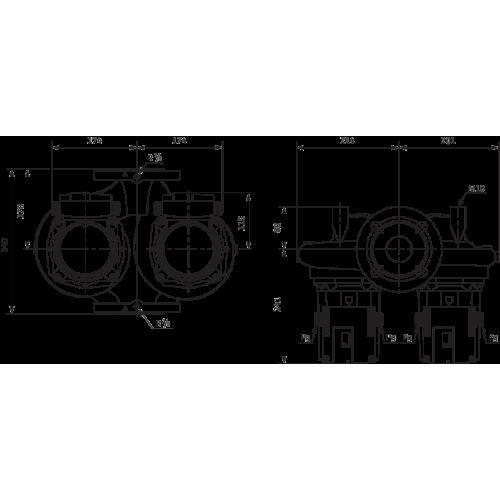 Циркуляционный насос Standard Wilo TOP-SD 65/10 DM PN6/10