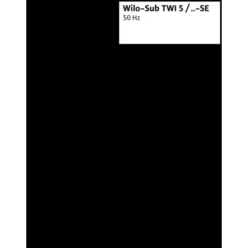 Колодезный насос Wilo Sub TWI 5 304 EM-FS