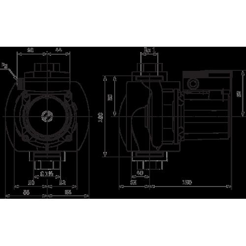 Циркуляционный насос Wilo TOP-S 25/5 (3~400/230 V, PN 10)