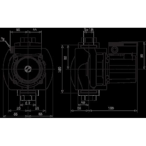 Циркуляционный насос Wilo TOP-S 30/5 (1~230 V, PN 10)