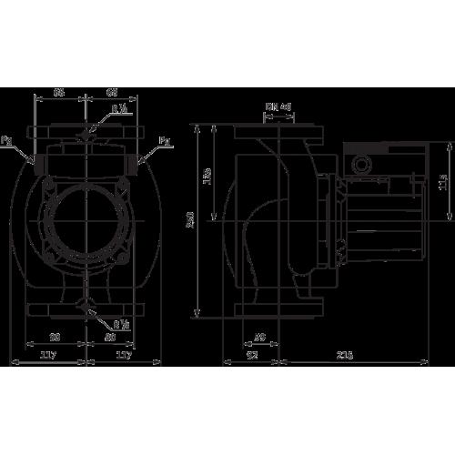 Циркуляционный насос Wilo TOP-S 40/10 (3~400/230 V, PN 6/10)