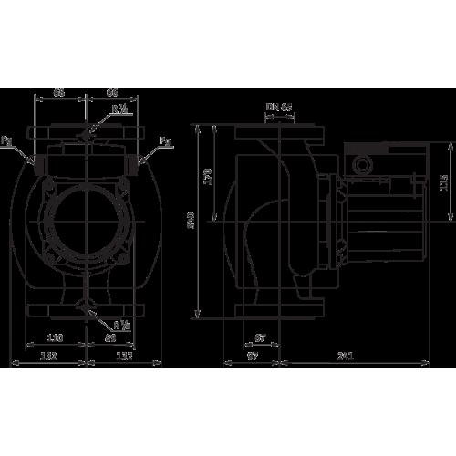 Циркуляционный насос Wilo TOP-S 65/10 2-ЧАСТОТЫ ВРАЩЕНИЯ (1~230 V, PN 6/10)