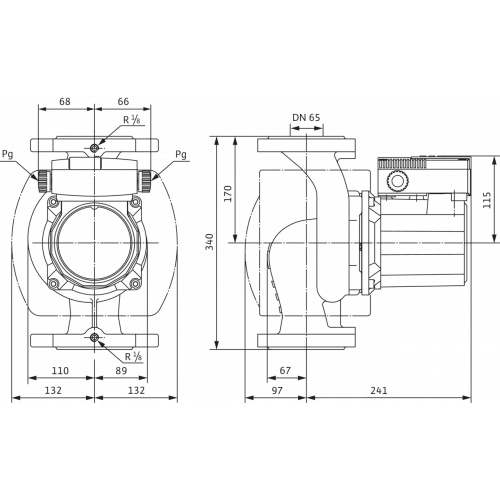 Циркуляционный насос Wilo TOP-S 65/10 (3~400/230 V, PN 6/10)