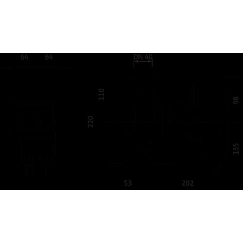Циркуляционный насос Wilo Yonos MAXO-Z 40/0,5-8
