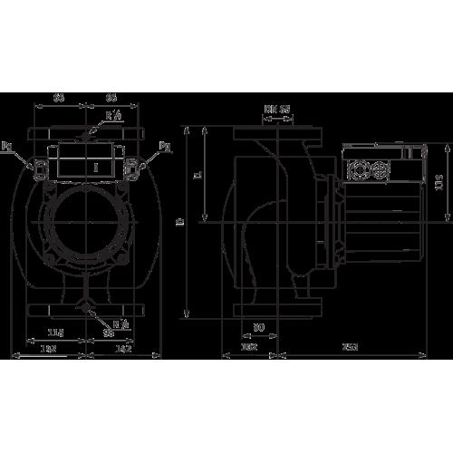 Циркуляционный насос Wilo TOP-Z 65/10 (3~400 V, PN 6/10, GG)