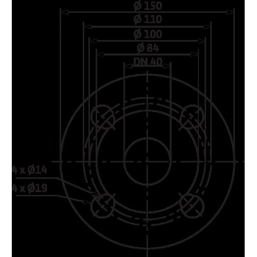 Циркуляционный насос Wilo Yonos MAXO-Z 40/0,5-12