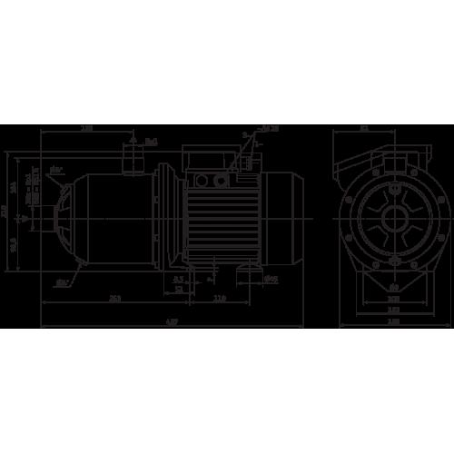 Поверхностный насос Wilo MultiPress MP 605 IE3 (3~230/400 В)