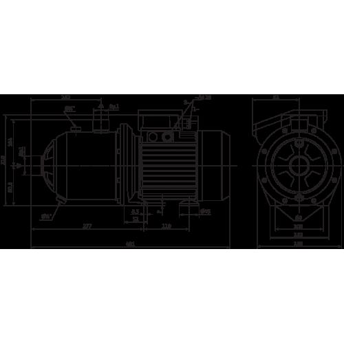 Поверхностный насос Wilo MultiCargo MC 605 IE3 (3~400 В)