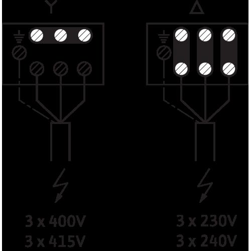 Вертикальный многоступенчатый насос  Wilo MVI 7001/1-3/16/E/3-400-50-2