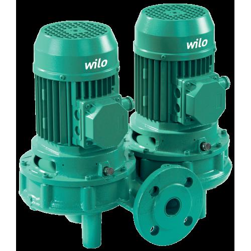 Циркуляционный насос с сухим ротором в исполнении Inline с фланцевым соединением Wilo VeroTwin-DPL 80/105-3/2