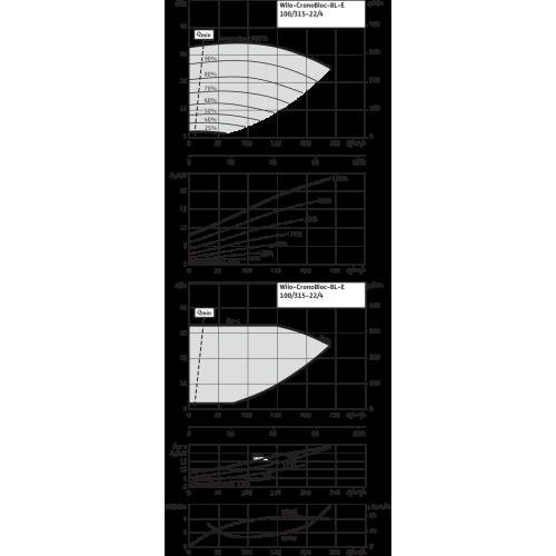 Блочный насос Wilo CronoBloc-BL-E 100/315-22/4-R1