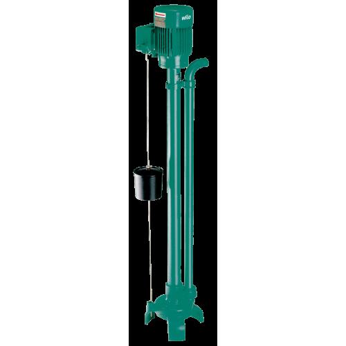 Вертикальный насос для грязной воды Wilo Drain VC 32/10 (1~230 В)