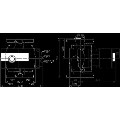 Циркуляционный насос Wilo Stratos 80/1-12 PN10