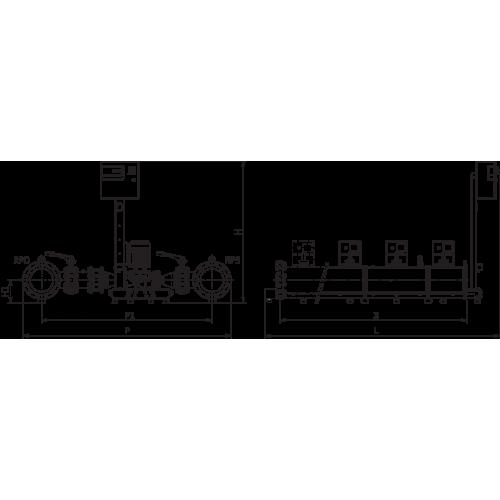 Высокоэффективная, автоматическая, готовая к подключению установка Wilo SiFlux 21-IP-E 50/150-4/2-SC-16-T4