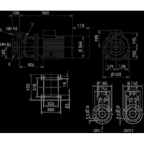 Блочный насос Wilo CronoBloc-BL 40/245-30/2