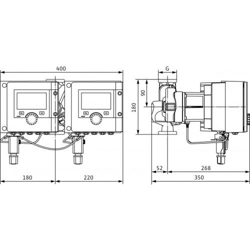 Циркуляционный насос  Wilo Stratos MAXO-D 30/0,5-10 PN10