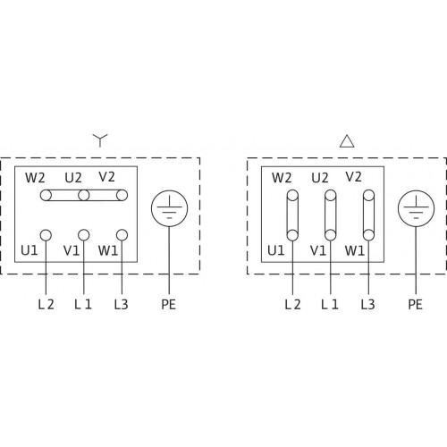 Одноступенчатый насос Wilo Atmos GIGA-N 50/315-55/2