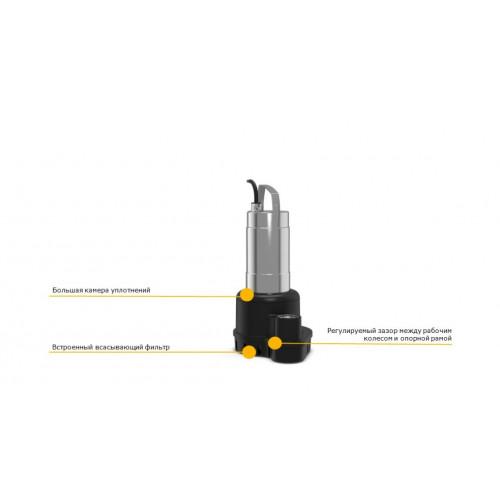 Погружной дренажный насос  Wilo PADUS UNI M05/T25-540/A