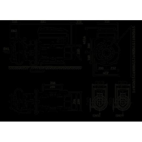 Циркуляционный насос Wilo Stratos GIGA B 100/2-24/15-R1