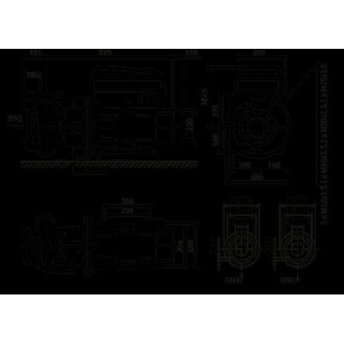 Циркуляционный насос Wilo Stratos GIGA B 80/3-32/22