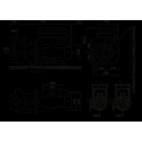 Циркуляционный насос Wilo Stratos GIGA B 32/5-74/11-R1