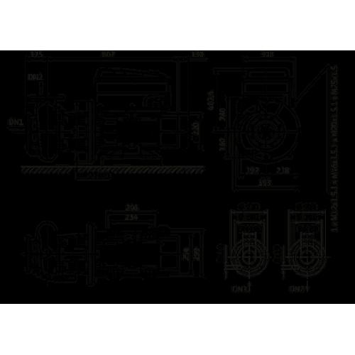 Циркуляционный насос Wilo Stratos GIGA B 80/2-25/11-R1