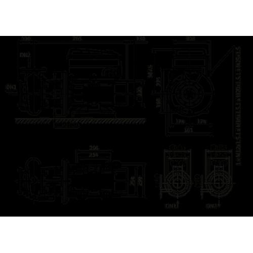 Циркуляционный насос Wilo Stratos GIGA B 40/6-80/22