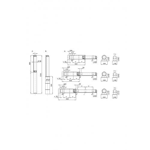 Колодезный насос Wilo Sub TWU4.16-08-C (1~230 V, 50 Hz)