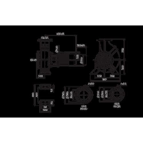 Одноступенчатый насос Wilo Atmos GIGA-B 32/250-3/4