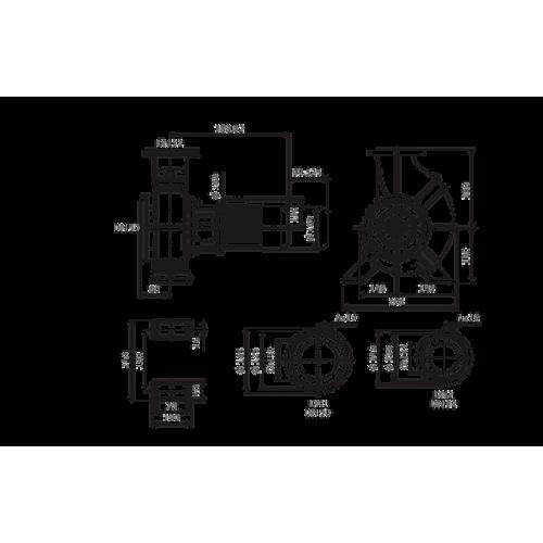 Одноступенчатый насос Wilo Atmos GIGA-B 32/180.1-0,37/4