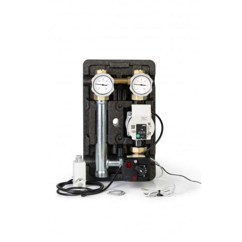 Смесительная насосная группа с электрическим термостатом и реле Meibes powered by Wilo MpbW MK 1