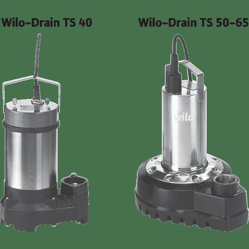 Drain TS 50 H 111/11 CEE (3~400 В) 6042447 в фирменном магазине Wilo